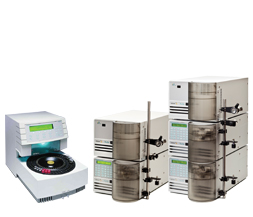 usado Varian Analytical to prep systems mass spectrometer