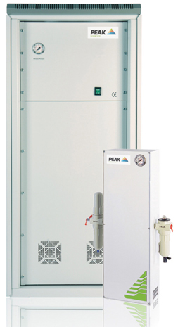 PEAK NM18-420L Nitrogen Generator Specifically designed to connect to an existing air supply