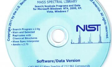 NIST EPA-NIH Mass Spectral Library mass spectrometer and chromatography parts and accessories