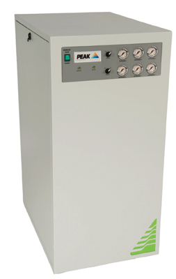 PEAK&nbsp;Genius<sup>2</sup> 3030 Nitrogen Generator&nbsp;specifically designed to supply two AB SCIEX LC/MS from a single compact unit